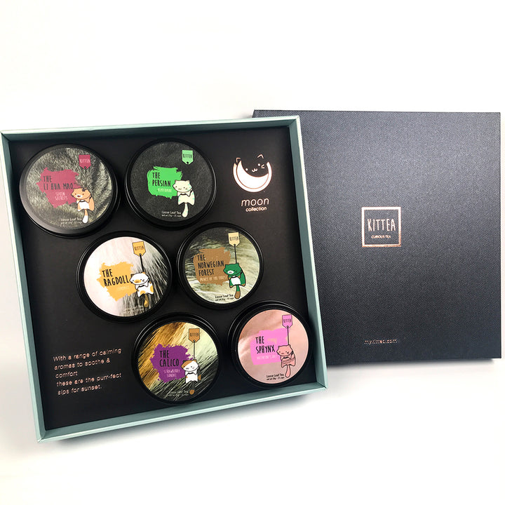 6-Tin Gift Set: The Moon Collection