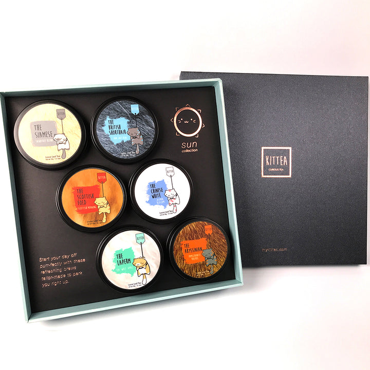 6-Tin Gift Set: The Sun Collection
