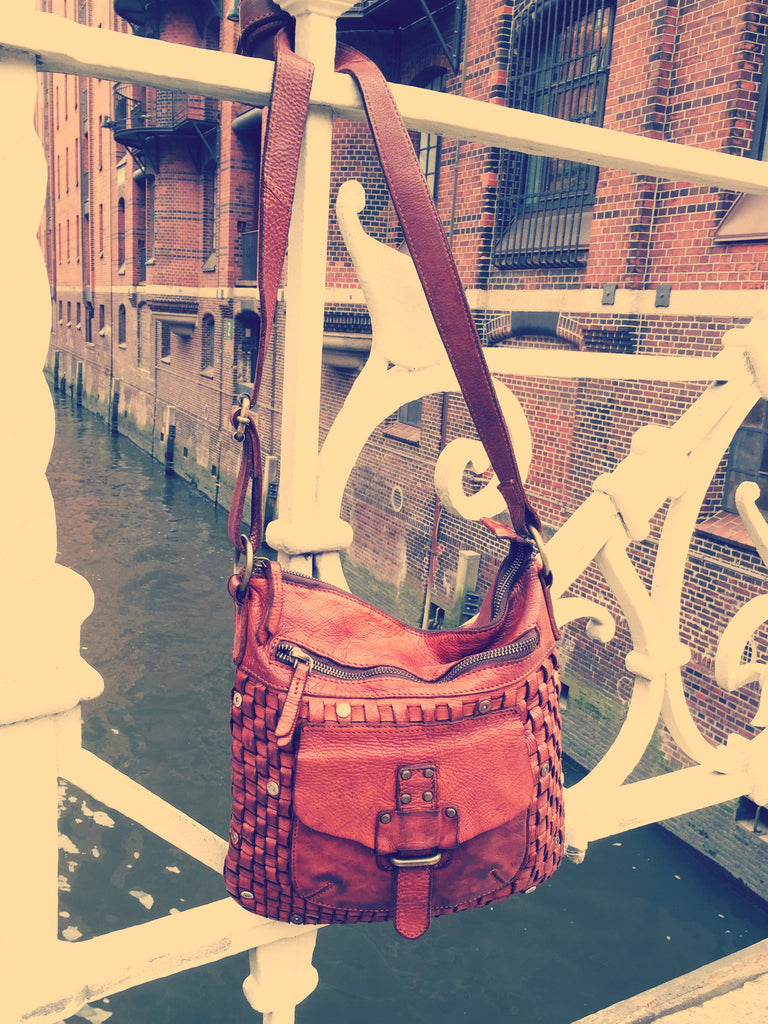 Crossbody-Tasche Aurora in charming cognac von Harbour 2nd