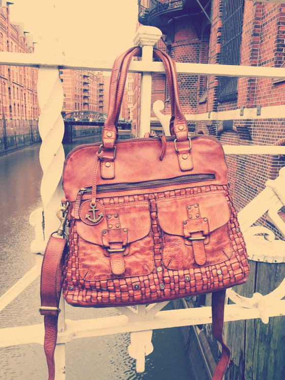 Handtasche Alexandra in charming cognac von Harbour 2nd