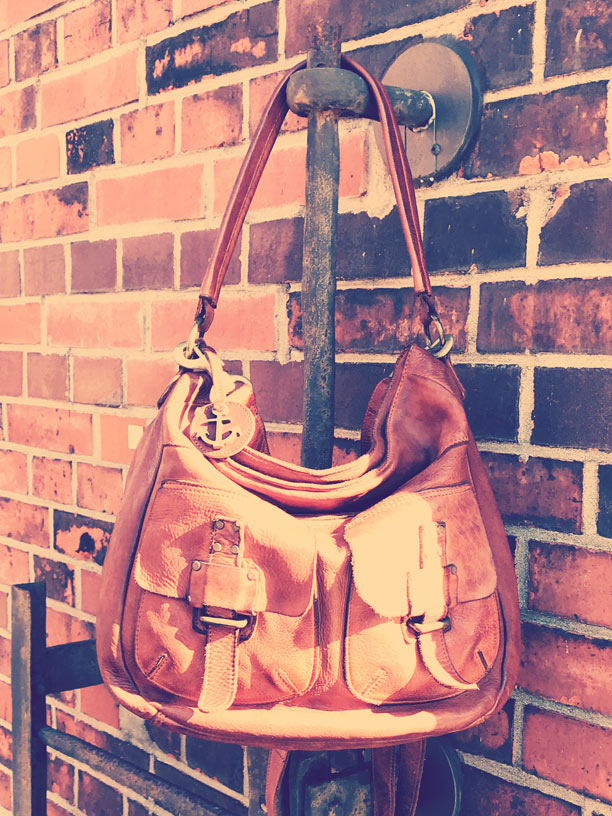 Hobo-Bag Ellida in charming cognac