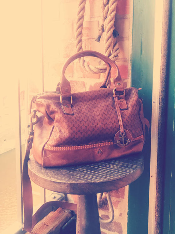Henkeltasche Viviana in cognac, Harbour 2nd