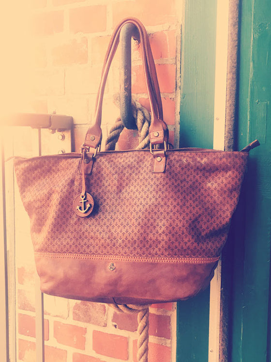 Shopper Arielle in charming cognac