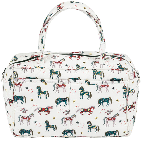 White Horse 'Weekender' Overnight Bag