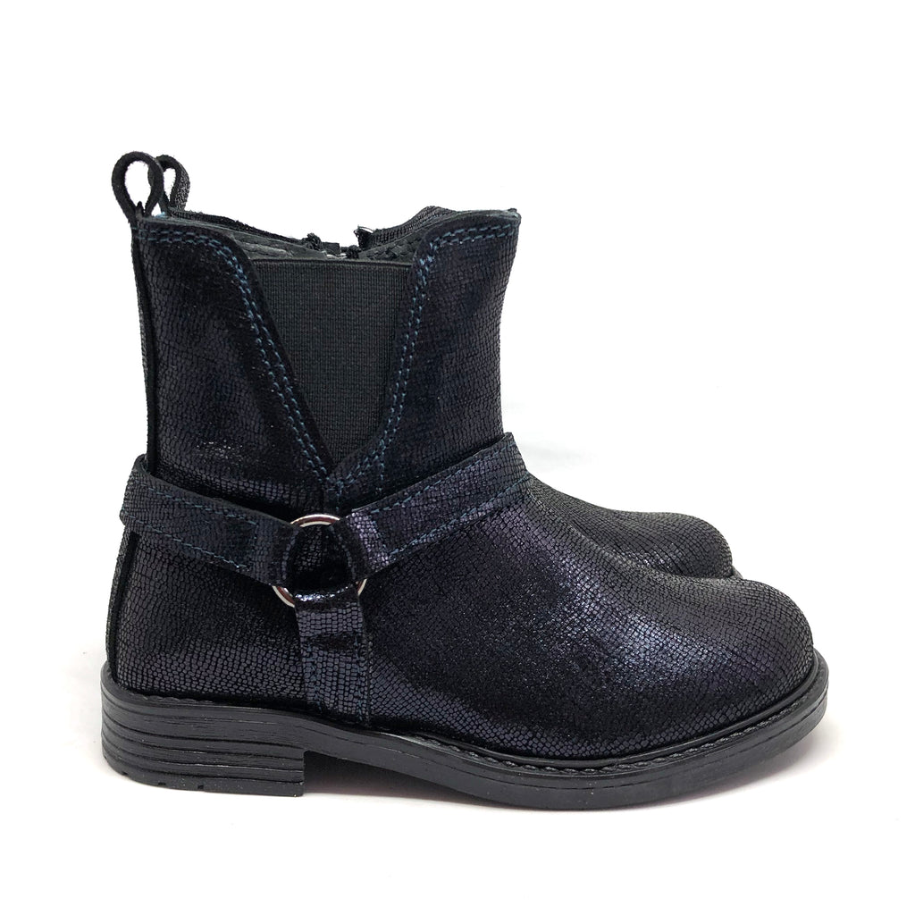 Margot Boots Navy Metallic