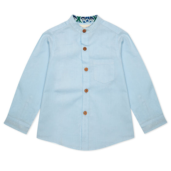 Blue Alfie Shirt