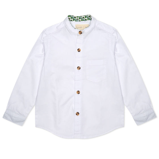 ****SPRING SAMPLE SALE**** White Alfie Shirt