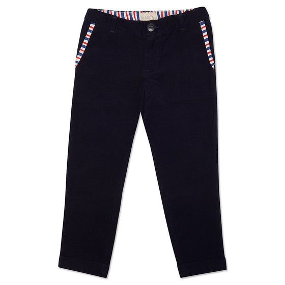 Navy Archer Trousers