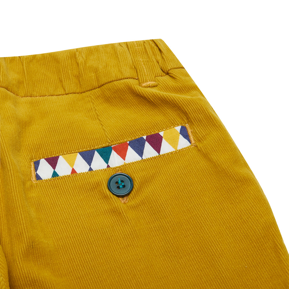 Mustard Archer Trousers