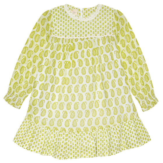 Lime Green Ava Dress