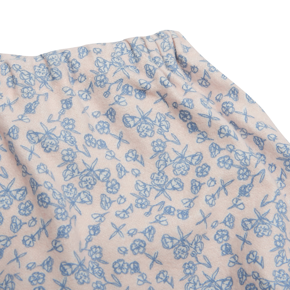 Blue and Pink Floral Bloomers