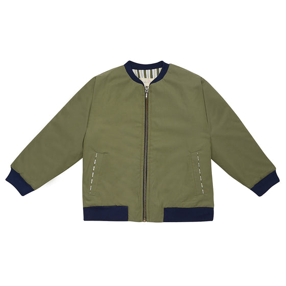 Khaki Bay Bomber Jacket