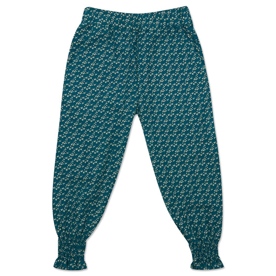 Teal Star Freya Trousers