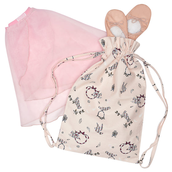 Doves Print Activity Bag