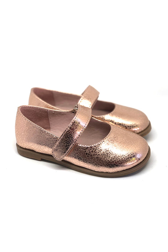 Mia Mary Jane Shoes Rose Gold