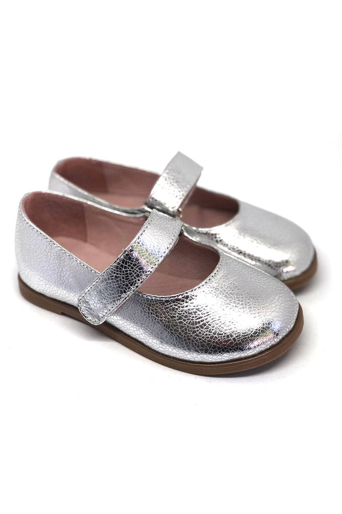 Mia Mary Jane Shoes Silver