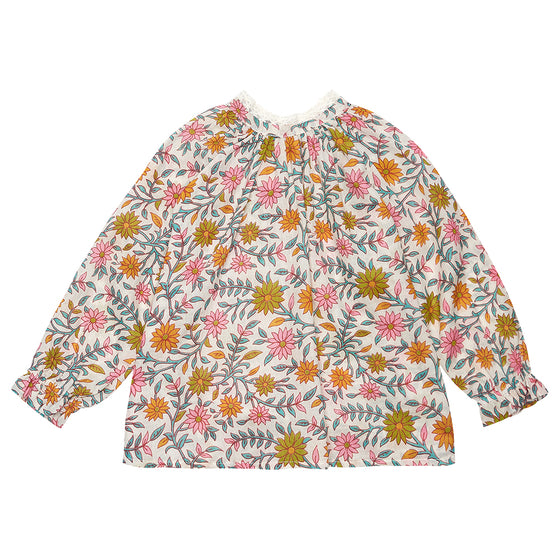 Orange Daisy Olivia Top