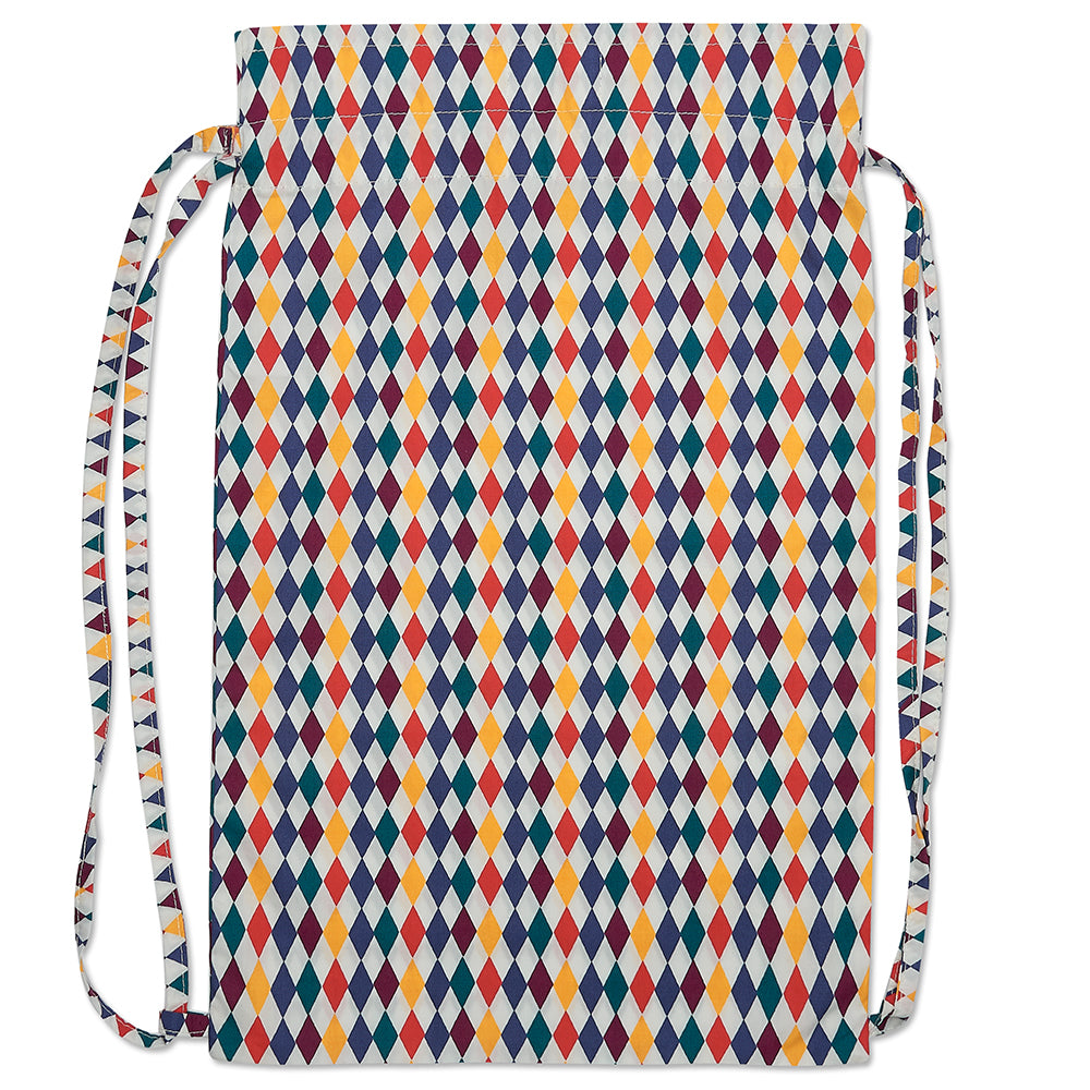 Harlequin Print Activity Bag