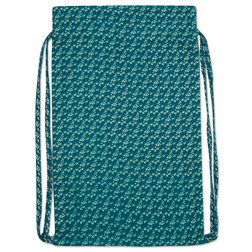 Teal Star Activity Bag