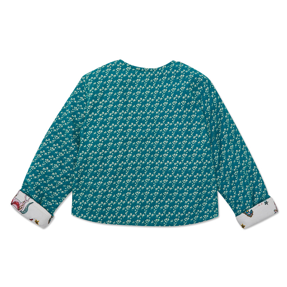 Teal Star/ White Horse Mia Jacket