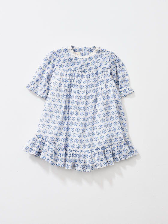 ****SPRING SAMPLE SALE**** Sky Blue Short Sleeve Ava Dress