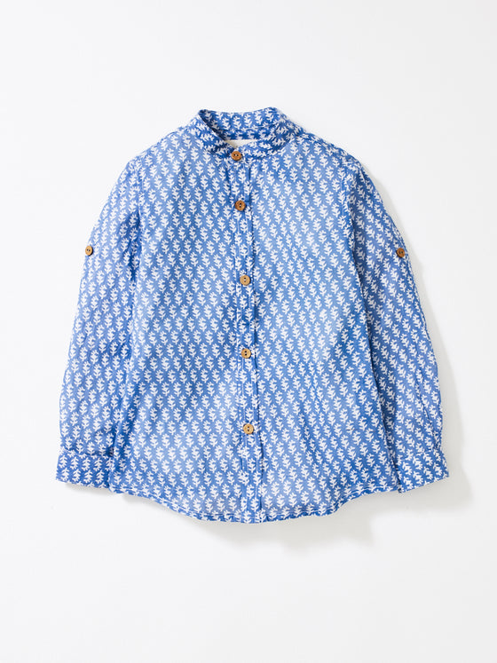 Sky Blue Boys Alfie Shirt