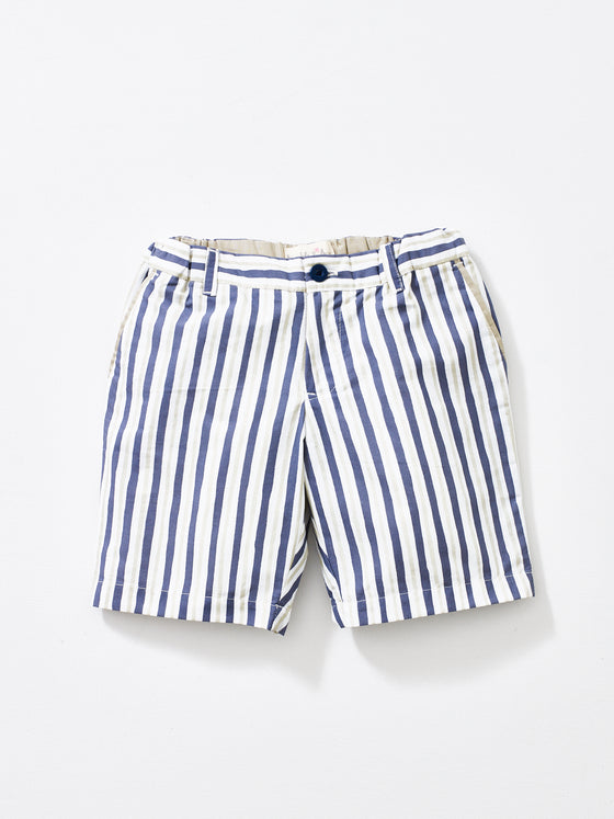 Grey Stripe Boys Shorts