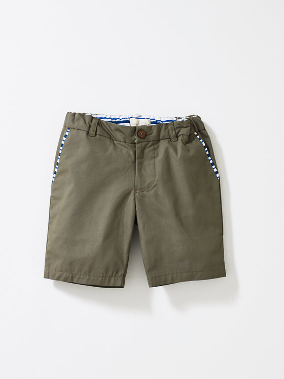 Khaki Boys Shorts