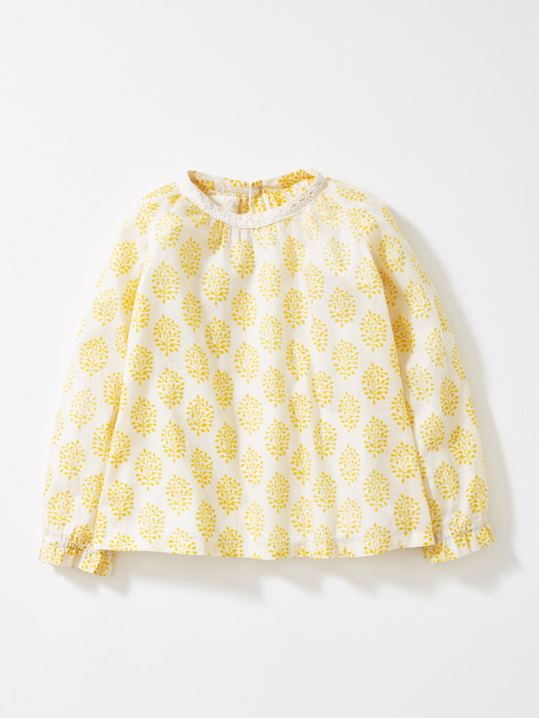 Yellow Olivia Top