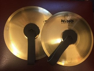 Junior Marching cymbals 8""