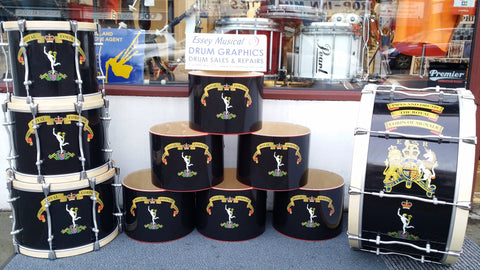 Drum Wraps Call for Price