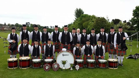 Pipe Band Uniforms. Call for Price