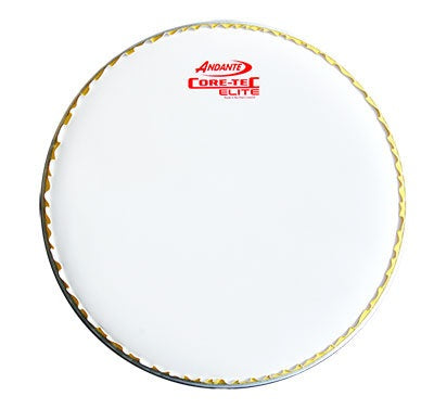 Andante Elite Snare Head White