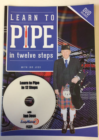 Learn to play Bagpipes Book & DVD