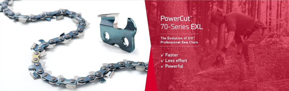 November 2018 - Oregon PowerCut 70-Series EXL Chainsaw Chain