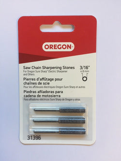 "Oregon 31396 SureSharp Grinding Stones 3/16"" (4.8mm) - NewSawChains"