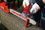 Oregon 585015 SureSharp 12v Chainsaw Chain Grinder / Sharpener in use - NewSawChains