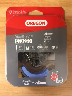 Oregon 573268 PowerSharp Chain & Grindstone Pack - 56 Drive Link