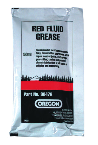 90476 - Oregon Red Fluid Grease Sachet - 50ml - NewSawChains