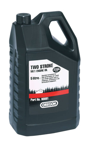 90891 - Oregon 2 Stroke Semi Synthetic Oil - Five (5) Litres - NewSawChains