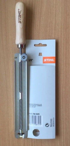 "Stihl Filing Guide / Holder (c/w File) 5.2mm (13/64"") - 5605 750 4329"