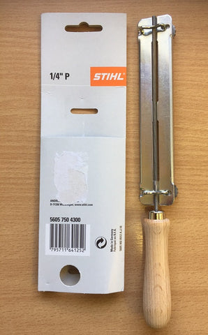 "Stihl Filing Guide / Holder (c/w File) 3.2mm (1/8"") - 5605 750 4300"