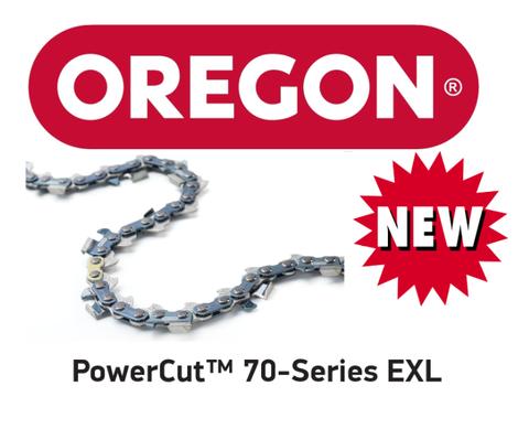 73EXL077E / 73EXL077 - Oregon PowerCut 73EXL Chainsaw Chain - 77 Drive Links