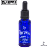 Man O War Beard & Stubble Oil Three Pack | 3x 50ml Bottles | Solander & Banks - Solander & Banks