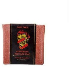 Modern Pirate Australian Red Clay Soap (110g) | Mens Shower & Face Soap