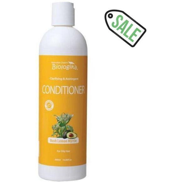 Biologika Australian Organic Bush Lemon Myrtle Conditioner (500ml) | Oily Hair C - Solander & Banks