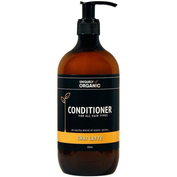 Uniquely Organic Conditioner Chai Latte (500ml) - Solander & Banks