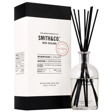 Coconut, Fig and Ginger Diffuser Set - 160ml | Smith & Co New Zealand - The Aromatherapy Co - Solander & Banks