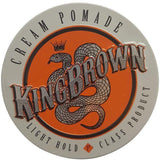 King Brown Cream Pomade 75g Hair Product - Solander & Banks