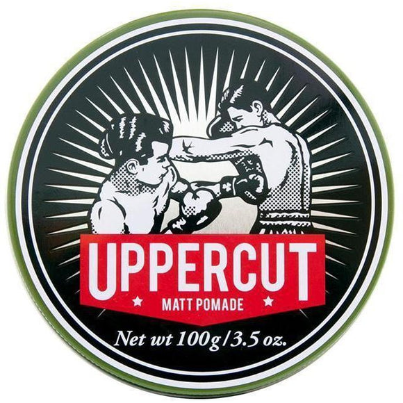 Uppercut Deluxe Matt Pomade (100g) Mens Hair Product - Solander & Banks